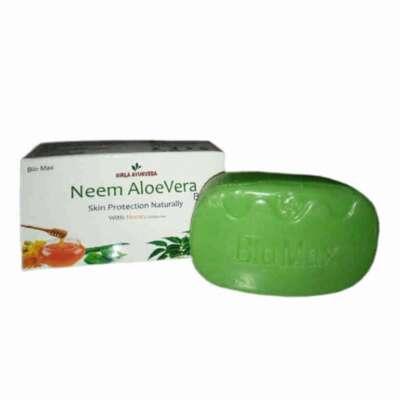 Neem Aloe Vera Soap Bar Birla Ayurveda