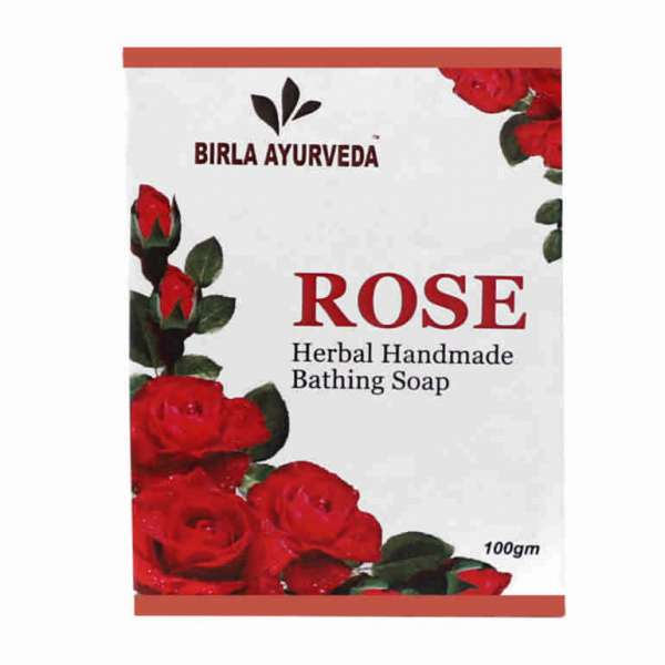 Rose Soap Birla Ayurveda