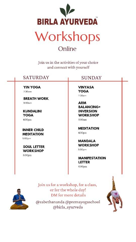 Yoga Banner Birla Ayurveda