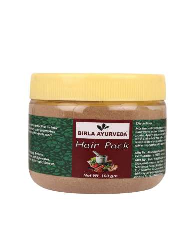 Hair Pack 100gm Birla Ayurveda