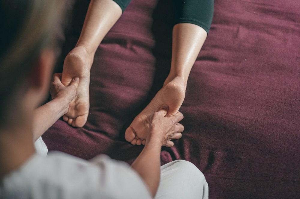 Foot Massage Birla Ayurveda
