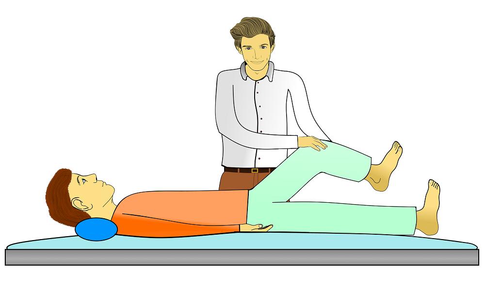 Knee massage Birla Ayurveda
